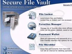 Secure File Vault 1.0 Screenshot