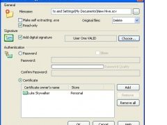 Secure Hive 1.3.0.2 Screenshot