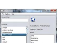 Secret Wallet Password Manager 1.3 Screenshot