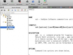 SecureCRT for Mac OS X 8.3.2 Screenshot