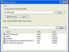 Seekafile - flexible indexing server 1.5 Screenshot