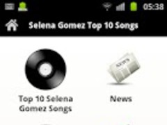 Selena Gomez Top 10 Songs 2.0 Screenshot