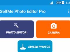 SelfMe Photo Editor Pro 1.0 Screenshot