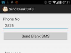 Send Blank Empty SMS 5 Screenshot