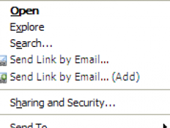 Send Path As Link By Email 1.3.0.0 Screenshot