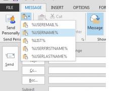Send Personally 2.2 Screenshot