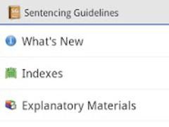 Sentencing Guidelines  Screenshot