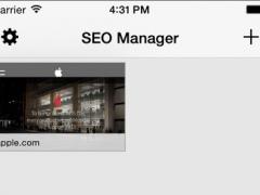 SEO Manager 1.11.10 Screenshot