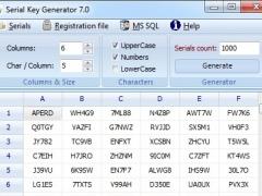 Serial Key Generator (64 bit) 6.0 Screenshot