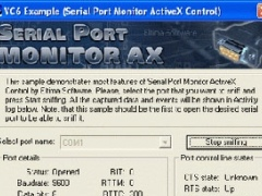 Serial Port Monitor ActiveX 3.0 Screenshot