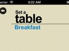 Set a table 1.2 Screenshot