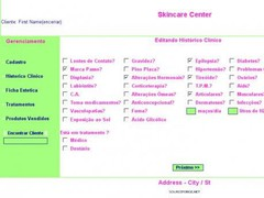 SGCE - Skincare Management System  Screenshot