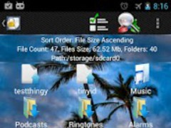 Shady File Manager (root) Free 6.3 Screenshot