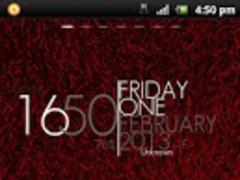 Shaggy Red GO theme 1.2 Screenshot