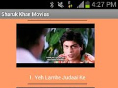 Shahrukh Khan Movies 1.8 Screenshot