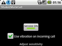 Shake2MuteCall 2.2 Screenshot