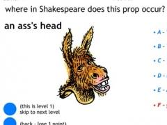 Shakespeare Props Quiz 1.1 Screenshot