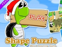 Shape Puzzle Free - Word Learning Game for Kids 2.0 Screenshot