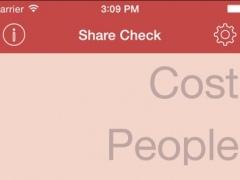 ShareCheck - Tip & Check Split Calculator 2.1.1 Screenshot