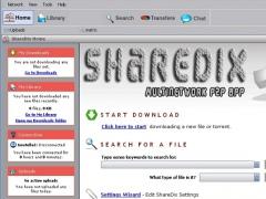 ShareDix 3.8.0 Screenshot