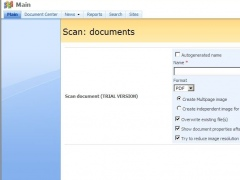 SharePoint Scanner Plug-in Professional 4.3 Screenshot