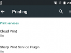 Sharp Print Service Plugin 1.0.0 Screenshot