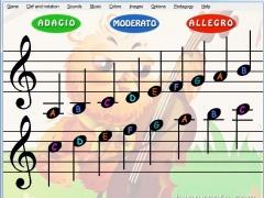 Sheet Music Treble Clef and Bass Clef HN 4.00 Screenshot