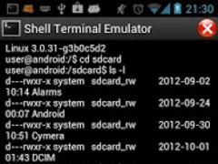paste in terminal emulator android