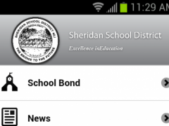 Sheridan School District 1.1.1 Screenshot