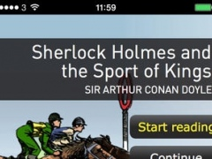 Sherlock Holmes and the Sport of Kings: Oxford Bookworms Stage 1 Reader (for iPhone) 1.2 Screenshot