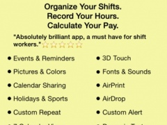 ShiftLife Organizer 10.0 Screenshot