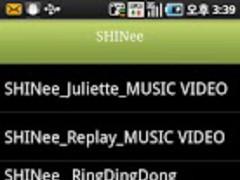 Shinee MUSIC video album 1.0 Screenshot
