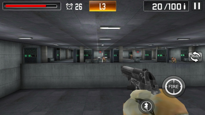 Shoot War: Professional Striker