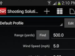 Shooting Solution 2.0.4 Screenshot