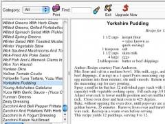 Shop'NCook Cookbook Reader for Mac 3.4 Screenshot