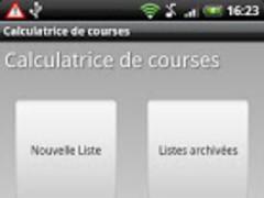 Shopping list calculator 1.2.3 Screenshot