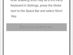 Short Key 1.8.1 Screenshot
