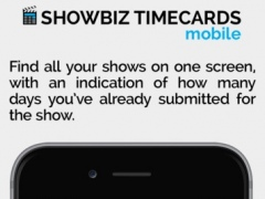Showbiz Timecards Mobile 3.1 Screenshot