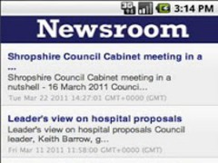 Shropshire Council Newsroom 13 Screenshot