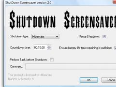 Shutdown Screensaver 2.1 Screenshot