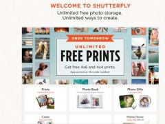Shutterfly: Prints, Cards, Gifts, Storage for iPad 4.2.2 Screenshot