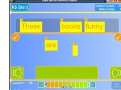 Sight Words Sentence Builder 1.1 Screenshot