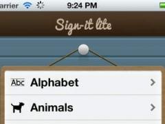 Sign it lite 1.0 Screenshot