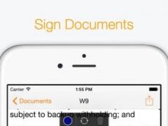 Sign PDF - Annotate, Signature & Fill Adobe PDF 1.0 Screenshot