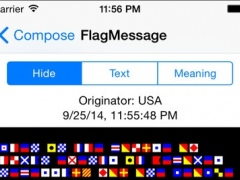 Signal Flags Communicator 1.2 Screenshot