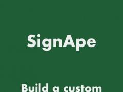 SignApe - Signup Form for Mailchimp 1.1 Screenshot