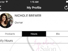 Signature Salon Team App 1.1 Screenshot