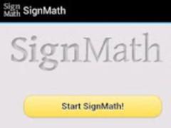 SignMath 1.0 Screenshot