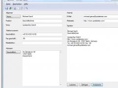 SigParser 3 Screenshot