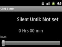 Silence / Quiet Time Pro 1.6 Screenshot